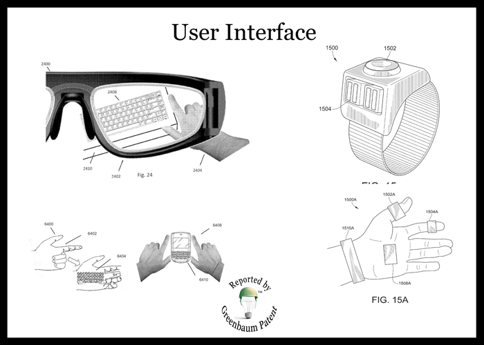user interface for augmented reality device